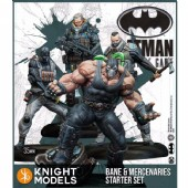 Batman 2nd Edition - Bane and Mercenaries Set