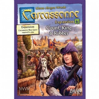 Carcassonne - Count, King & Robber Expansion